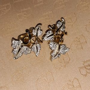 Vintage Silver/Gold Earrings